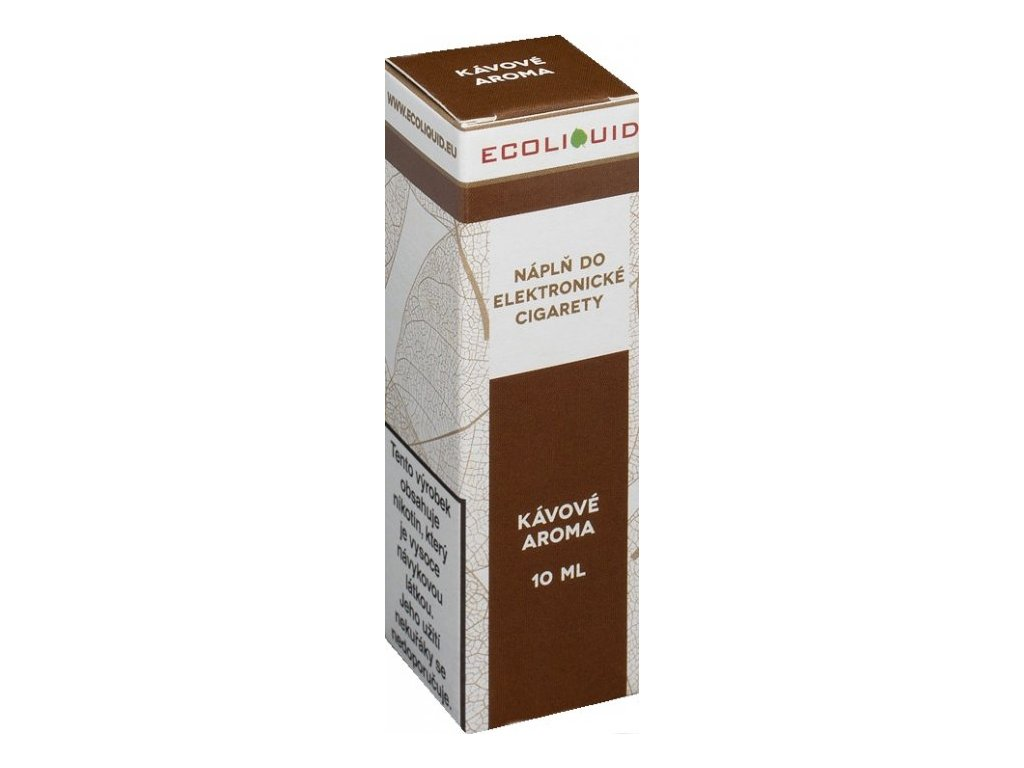 e-liquid Ecoliquid COFFEE 10ml - 12mg nikotinu/ml