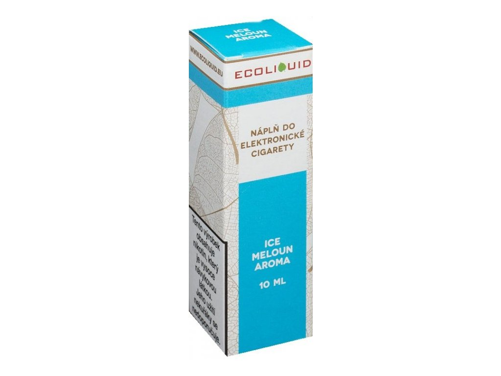 e-liquid Ecoliquid ICE MELON 10ml - 6mg nikotinu/ml