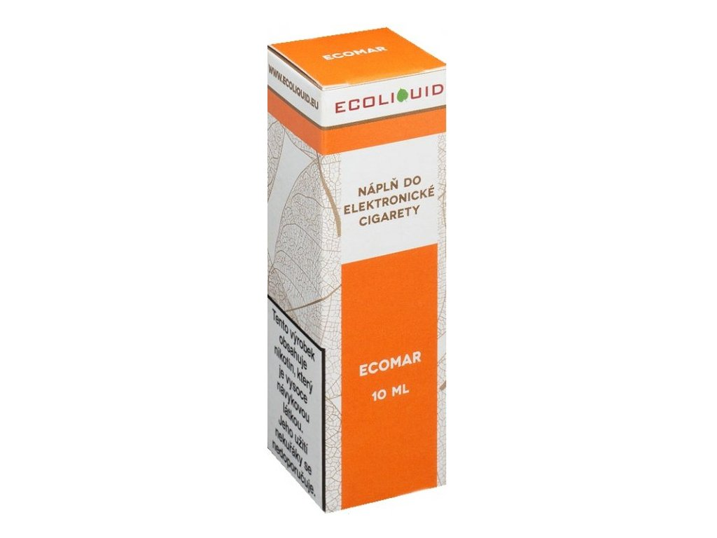 e-liquid Ecoliquid ECOMAR 10ml - 3mg nikotinu/ml