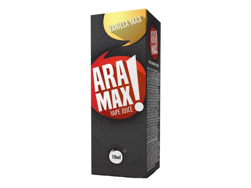 e-liquid ARAMAX Vanilla 10ml - 0mg nikotinu/ml