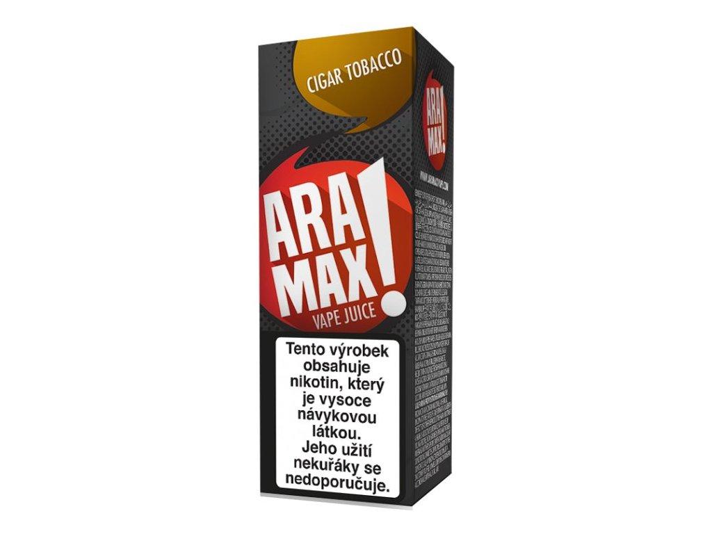 e-liquid ARAMAX Cigar Tobacco 10ml - 6mg nikotinu/ml