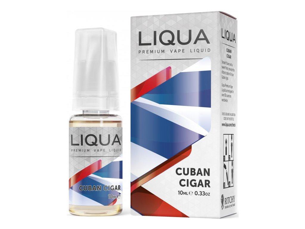 RITCHY e-liquid LIQUA Elements Cuban Tobacco 10ml - 0mg nikotinu/ml