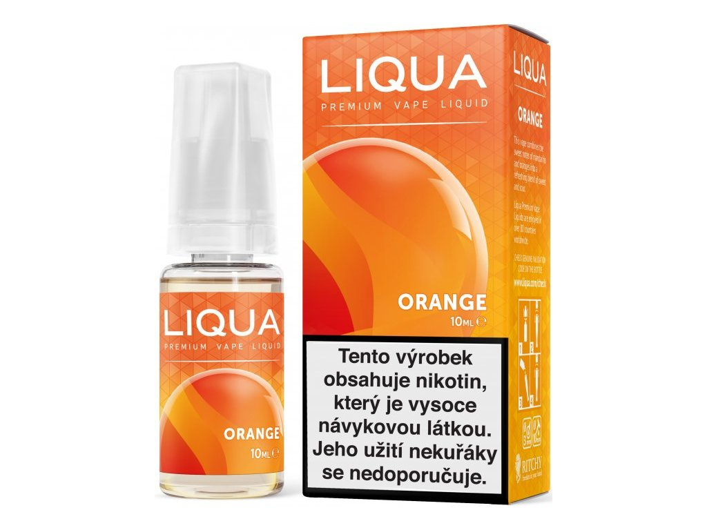 RITCHY e-liquid LIQUA Elements Orange 10ml - 18mg nikotinu/ml