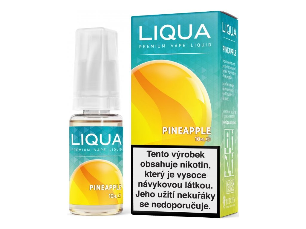 RITCHY e-liquid LIQUA Elements Pineapple 10ml - 3mg nikotinu/ml