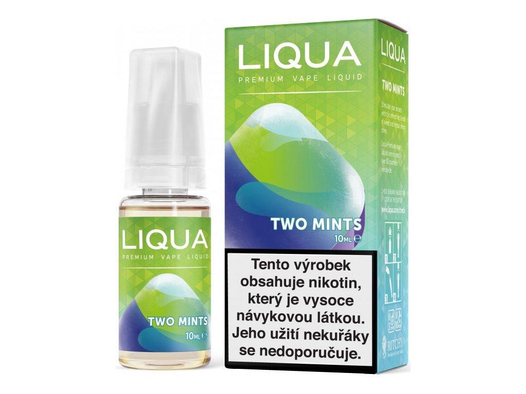 RITCHY e-liquid LIQUA Elements Two Mints 10ml - 6mg nikotinu/ml