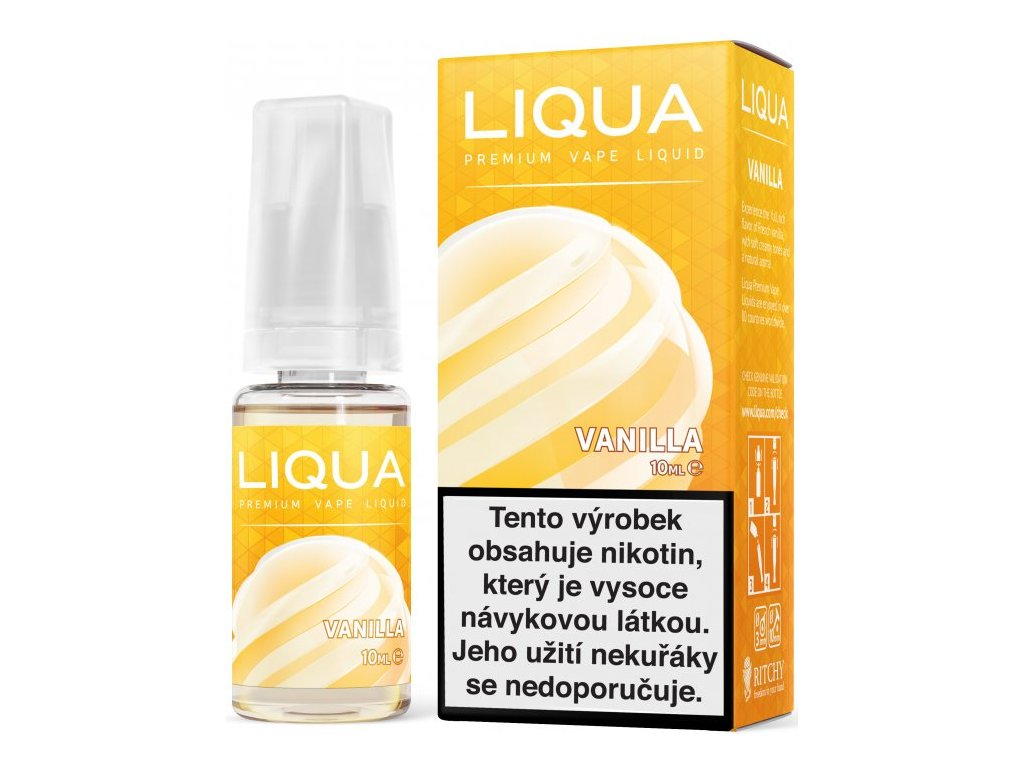 RITCHY e-liquid LIQUA Elements Vanilla 10ml - 6mg nikotinu/ml
