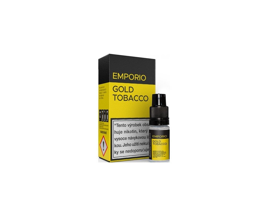 Imperia Emporio Gold Tobacco 10ml 0mg