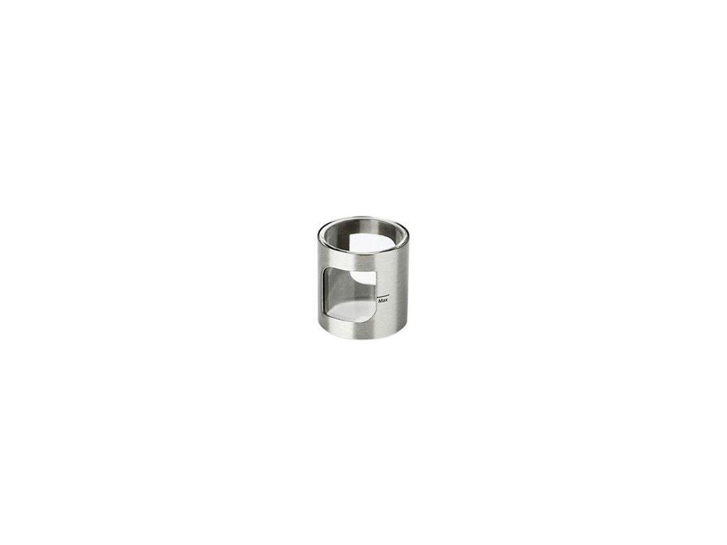 Aspire Nádržka tělo PockeX 2ml pyrex/kov Stříbrná