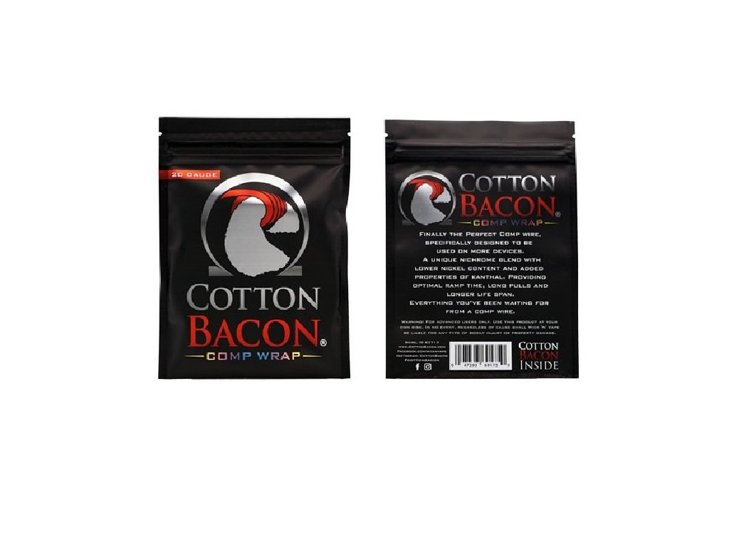Wick n Vape Cotton Bacon Comp Wrap 26ga