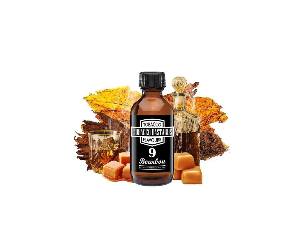 Příchuť Flavormonks Tobacco Bastards No. 09 Bourbon 10ml