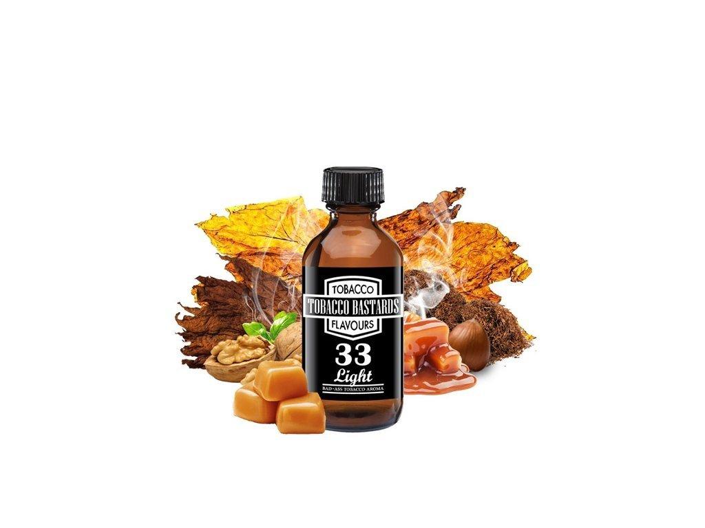 Příchuť Flavormonks Tobacco Bastards No. 33 Light Tobacco 10ml