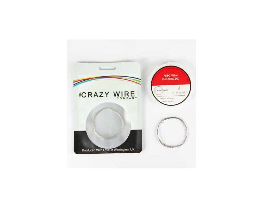 The Crazy Wire Company The Crazy Wire NI80 - Nichromový odporový drát 10m 39GA 0,1mm