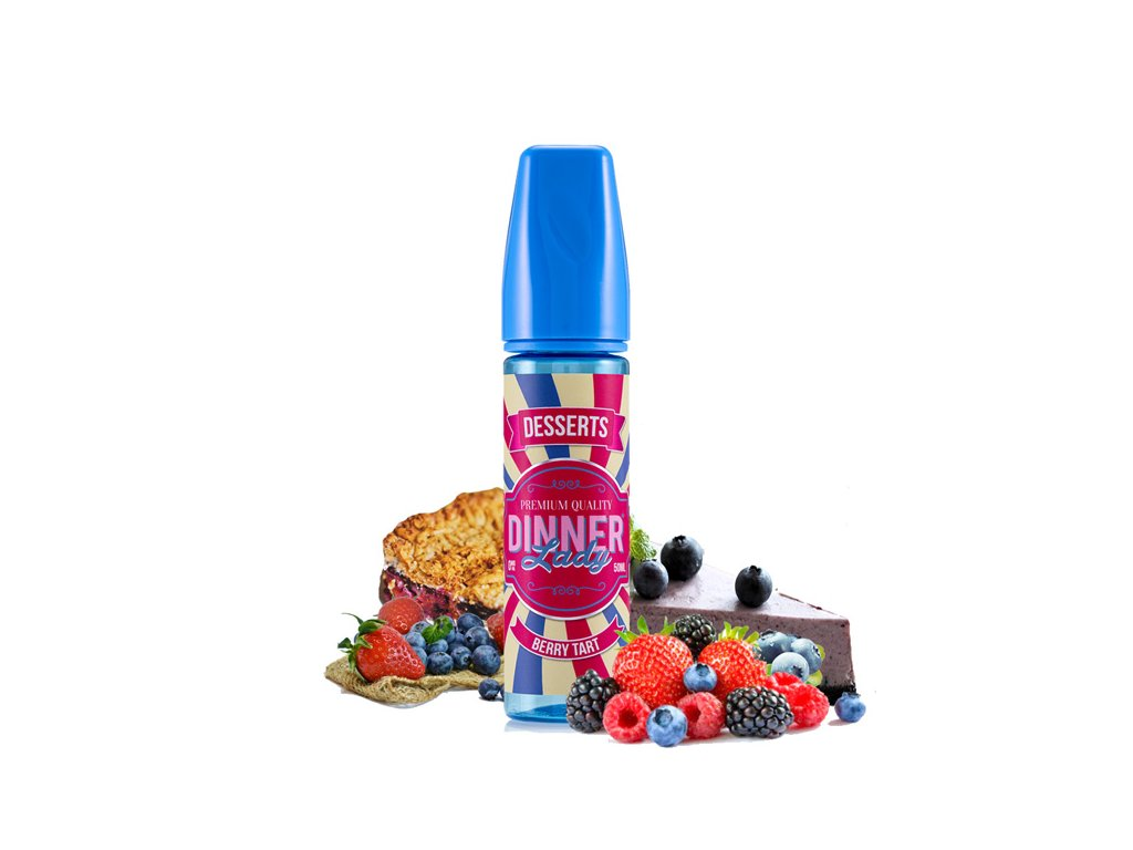 Dinner Lady Shake and Vape Berry Tart 20ml