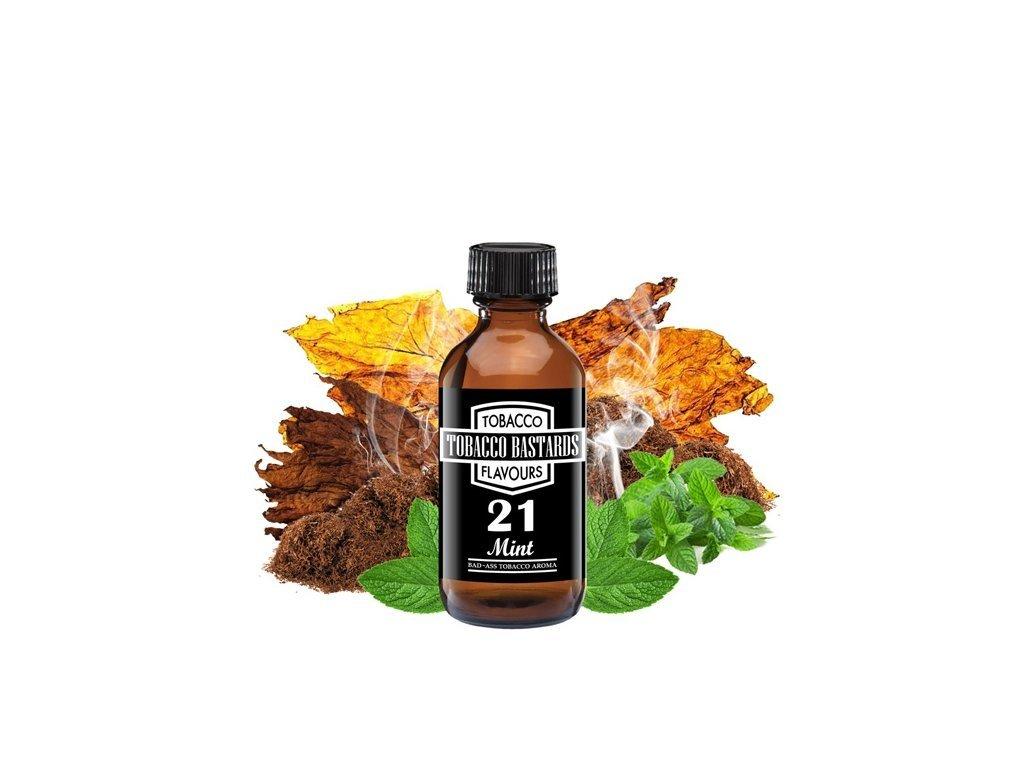 Příchuť Flavormonks Tobacco Bastards No. 21 Mint 10ml