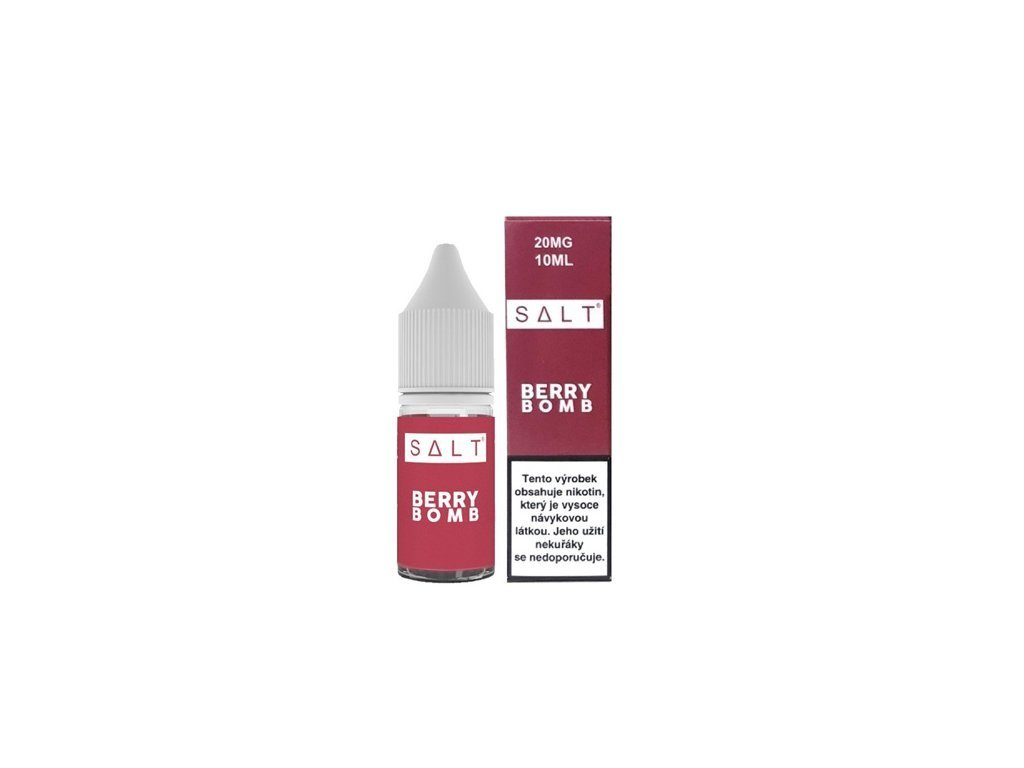 e-liquid Juice Sauz SALT Berry Bomb 10ml - 20mg nikotinu/ml