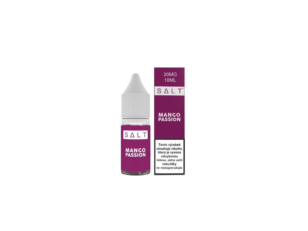 e-liquid Juice Sauz SALT Mango Passion 10ml - 20mg nikotinu/ml
