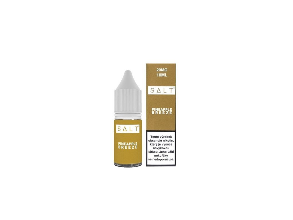 e-liquid Juice Sauz SALT Pineapple Breeze 10ml - 20mg nikotinu/ml