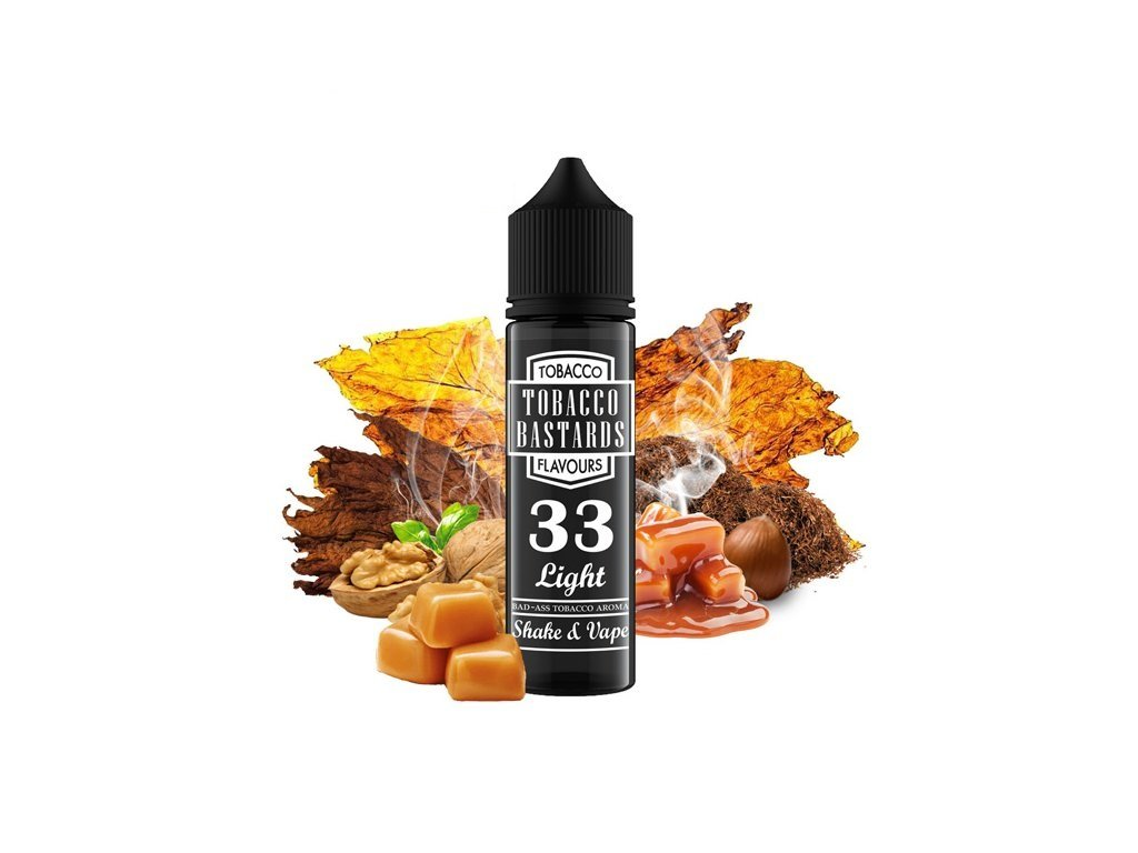 Příchuť Flavormonks Tobacco Bastards SaV No. 33 Light Tobacco 12ml