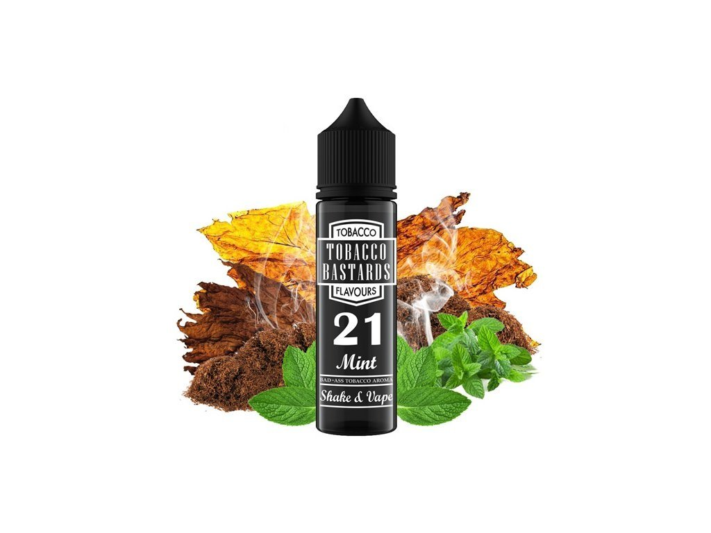 Příchuť Flavormonks Tobacco Bastards SaV No. 21 Mint 12ml