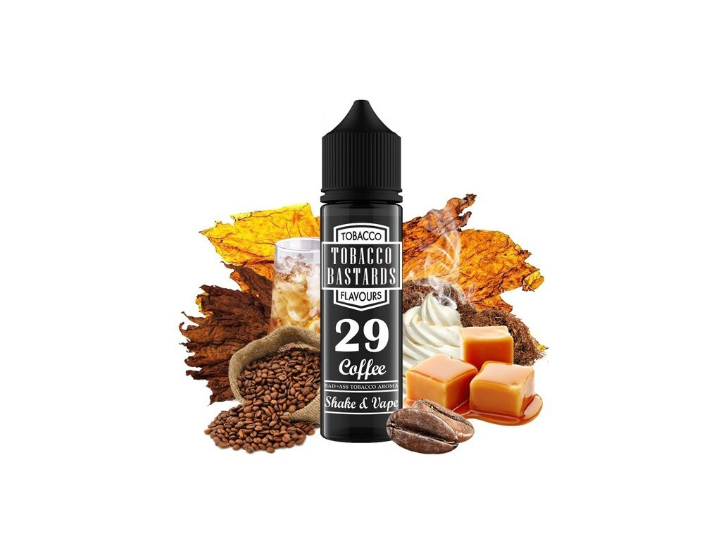 Příchuť Flavormonks Tobacco Bastards SaV No. 29 Coffee 12ml
