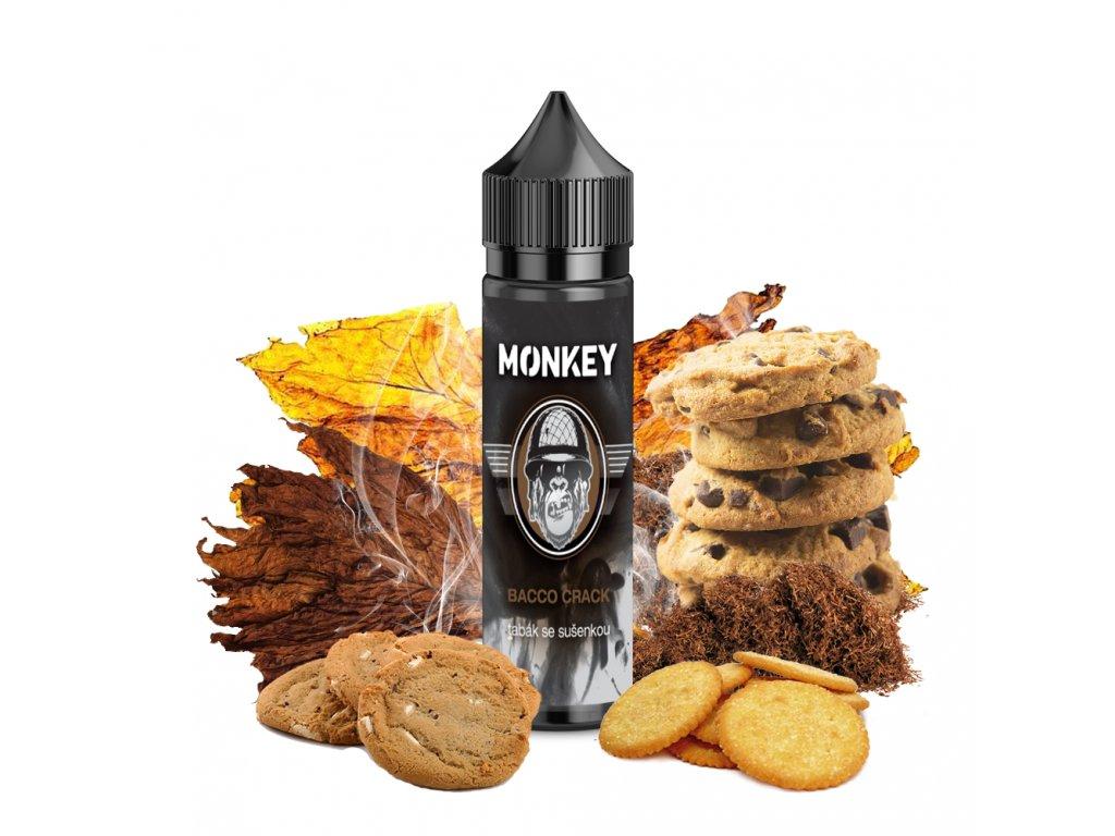 Příchuť MONKEY liquid Bacco Crack Shake and Vape 12ml