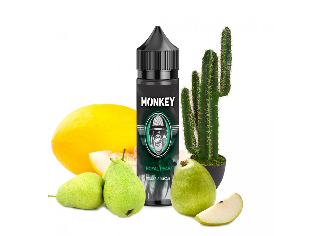 Příchuť MONKEY liquid Royal Pear Shake and Vape 12ml