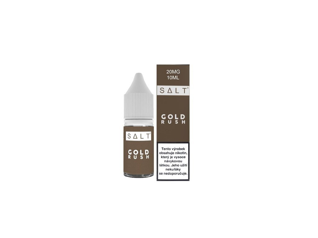 e-liquid Juice Sauz SALT Gold Rush 10ml - 10mg nikotinu/ml