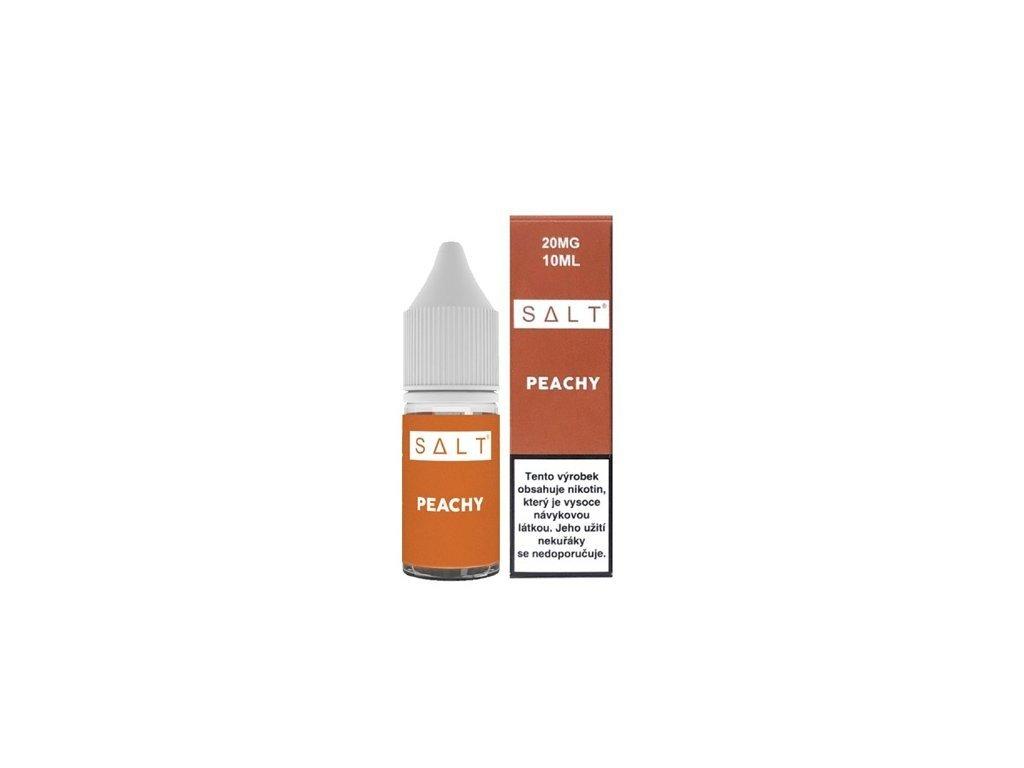e-liquid Juice Sauz SALT Peachy 10ml - 10mg nikotinu/ml