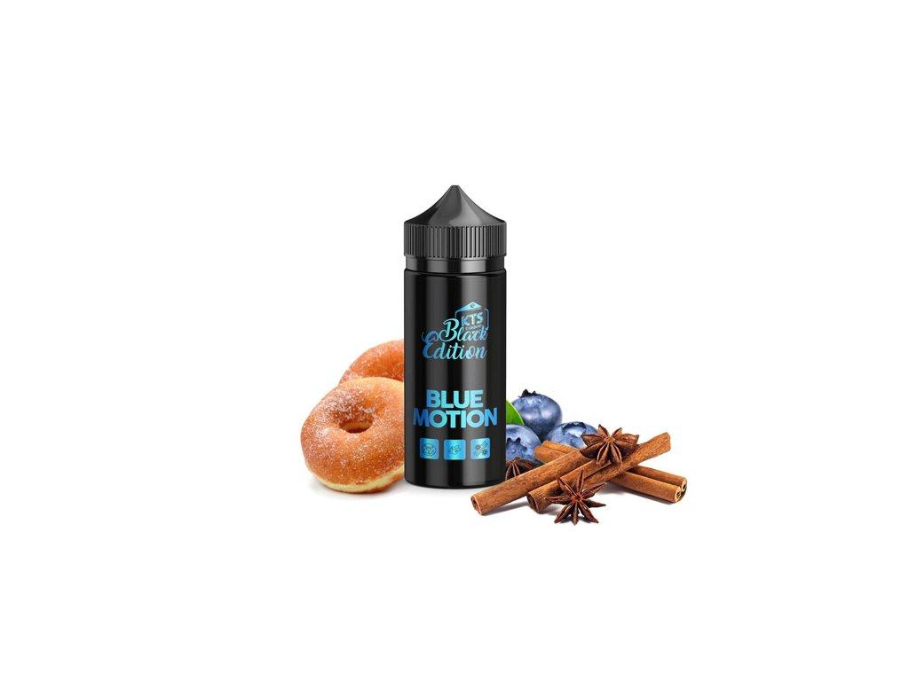 Příchuť KTS Black Edition Blue Motion Shake and Vape 20ml