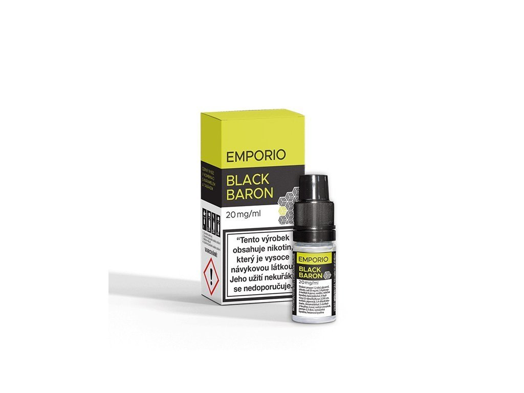 Imperia e-liquid EMPORIO Nic Salt Black Baron 10ml - 20mg