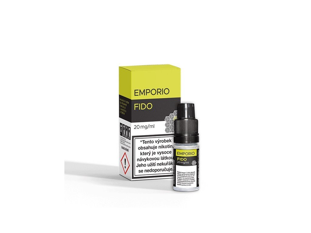 Imperia e-liquid EMPORIO Nic Salt Fido 10ml - 20mg