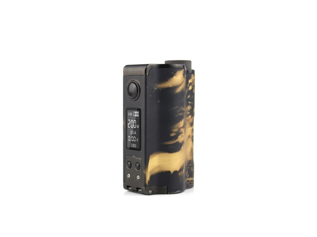 Dovpo Topside Dual SE 200W Squonk MOD - Black/Gold