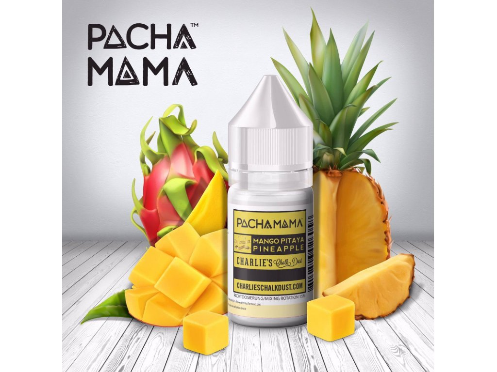CHARLIESCHALKDUSTROMA mango pitaya pineapple