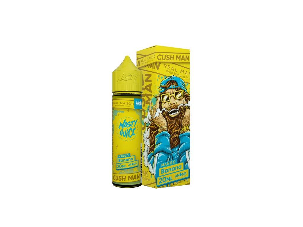 Příchuť Nasty Juice Cush Man Mango Banana 20ml