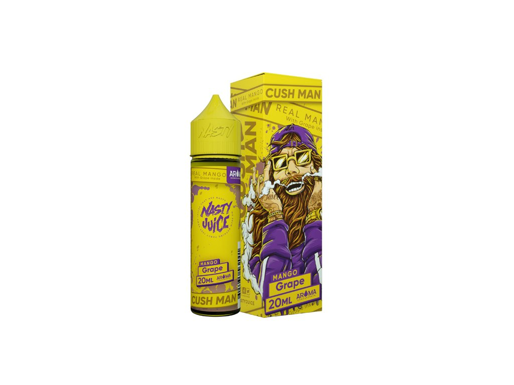 Příchuť Nasty Juice Cush Man Mango Grape 20ml