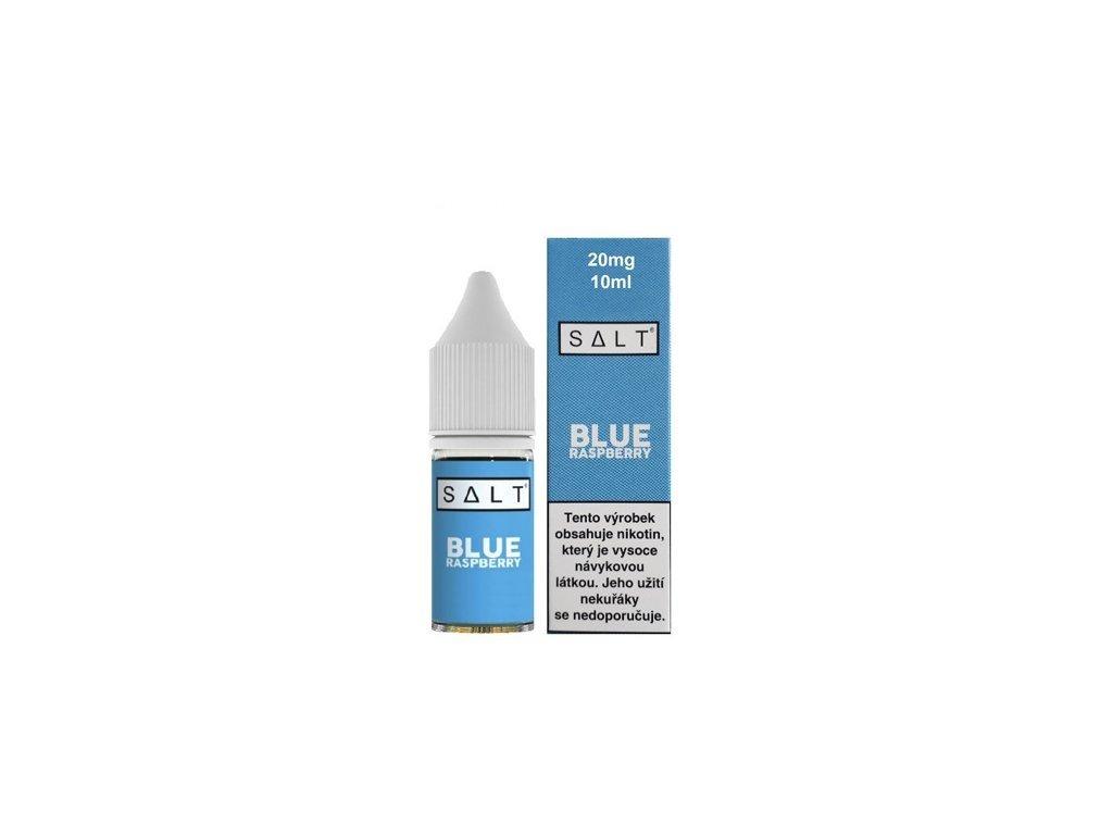 e-liquid Juice Sauz SALT Blue Raspberry 10ml - 20mg nikotinu/ml