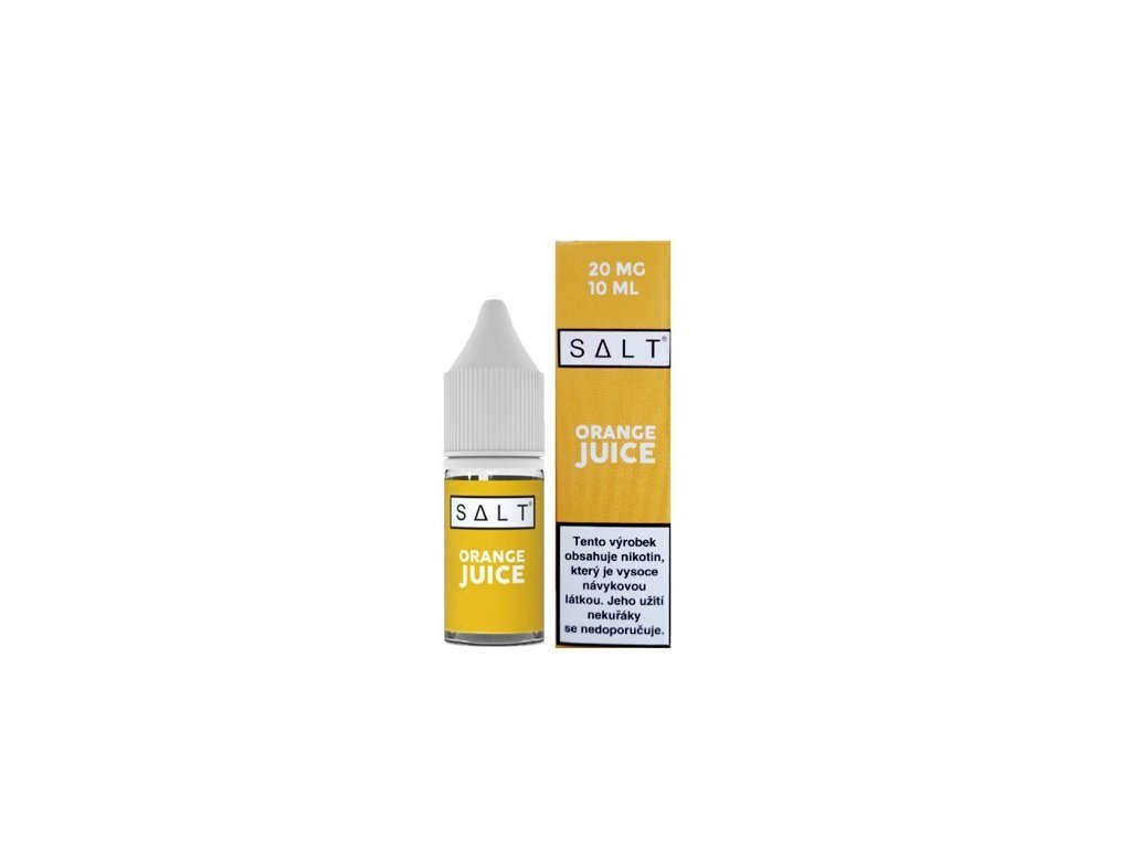 e-liquid Juice Sauz SALT Orange Juice 10ml - 10mg nikotinu/ml