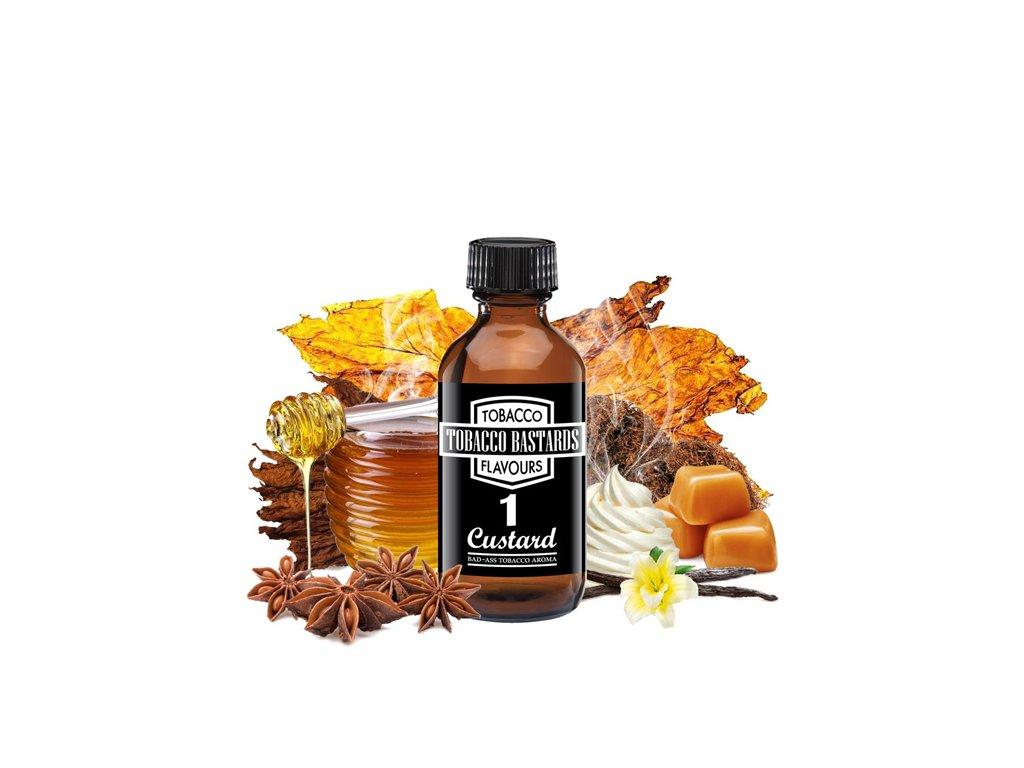 Příchuť Flavormonks Tobacco Bastards No. 01 Custard 10ml