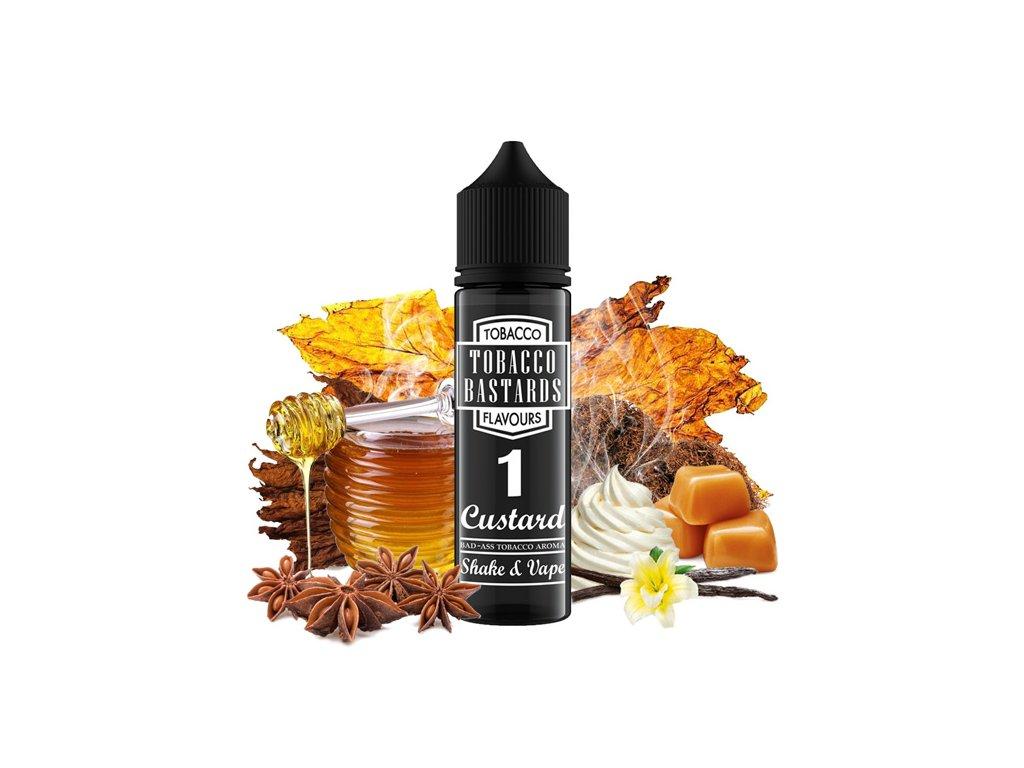 Příchuť Flavormonks Tobacco Bastards SaV No. 01 Custard 12ml