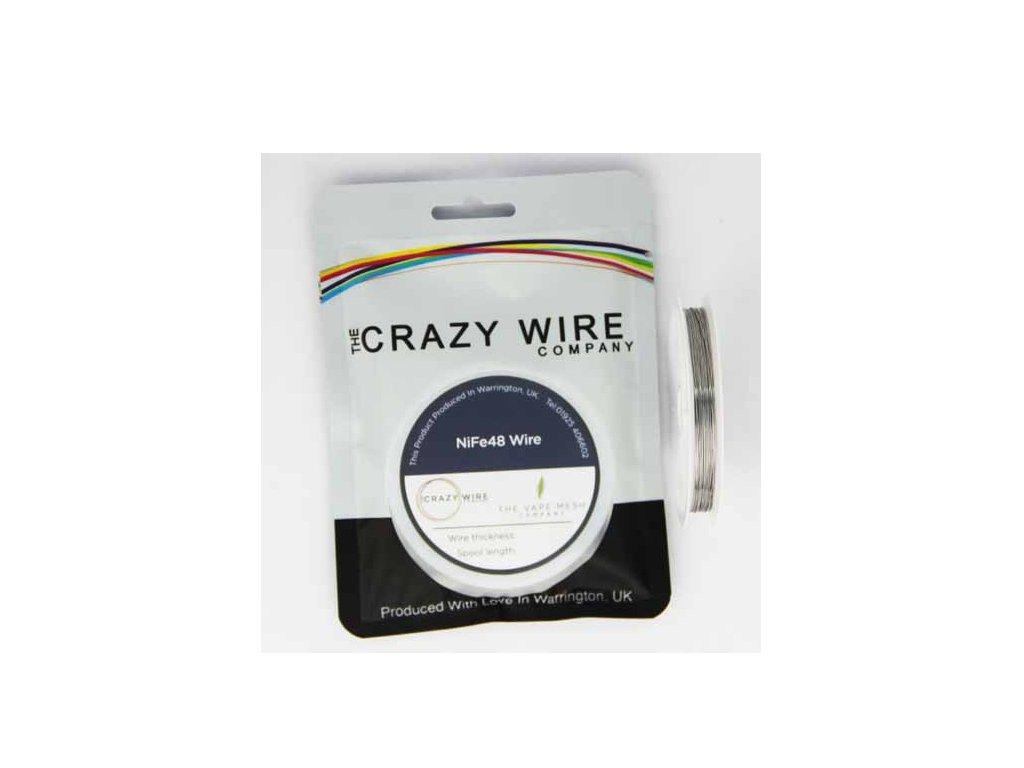 The Crazy Wire Company The Crazy Wire NiFe48 - NiFe odporový drát 10m 26GA 0,4mm