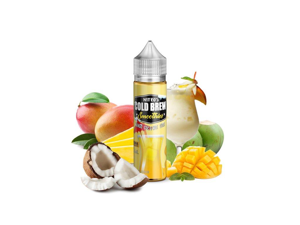 Nasty Juice Příchuť Nitros Cold Brew Mango Coconut Surf 20ml