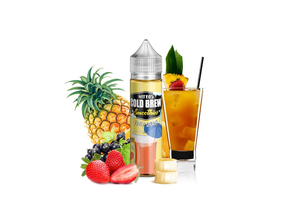 Nasty Juice Příchuť Nitros Cold Brew Fruit Splash 20ml