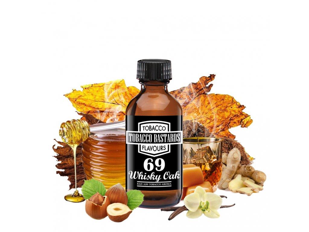Příchuť Flavormonks Tobacco Bastards No. 69 Whisky Oak 10ml