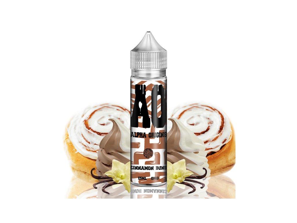 Příchuť Alpha Origins Shake and Vape Cinnamon Buns 15ml