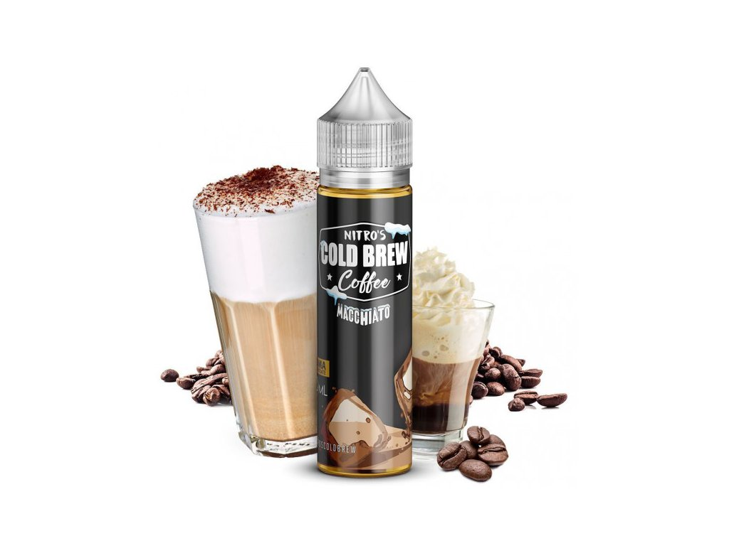Nasty Juice Příchuť Nitros Cold Brew Coffee Macchiato 20ml