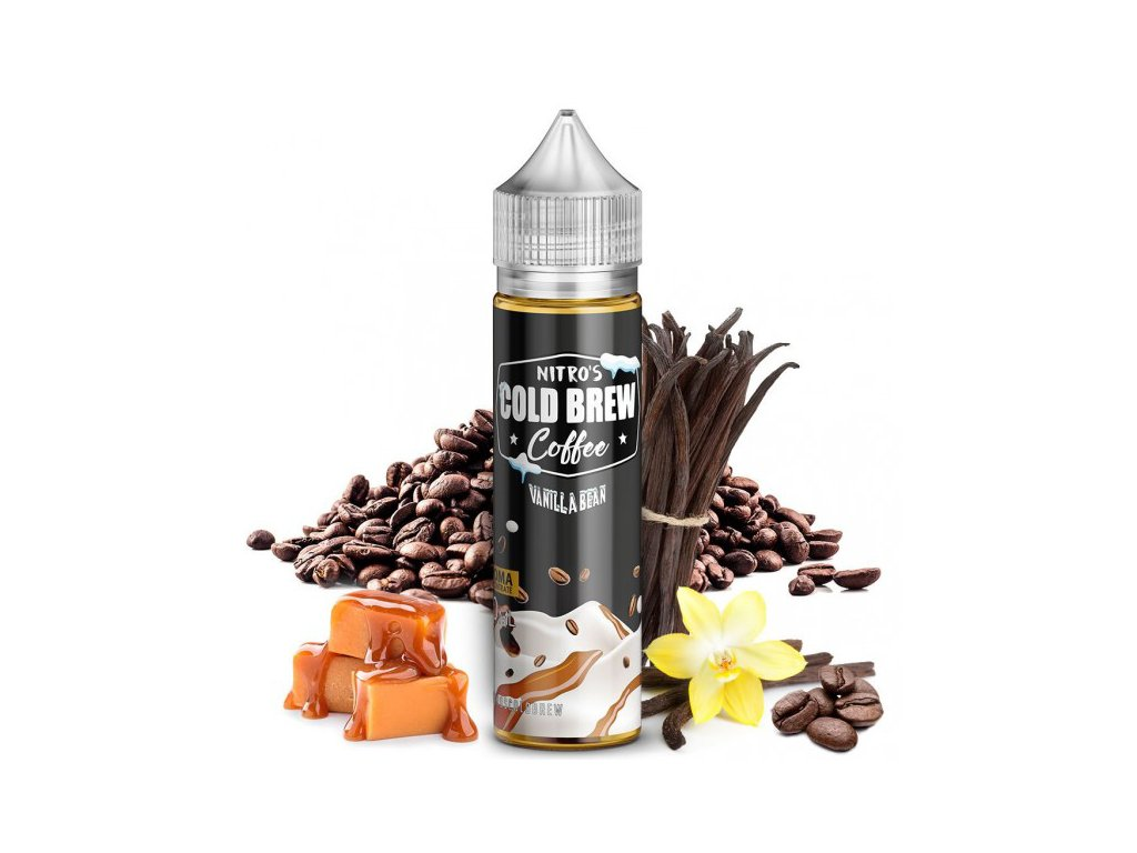 Nasty Juice Příchuť Nitros Cold Brew Coffee Vanilla Bean 20ml