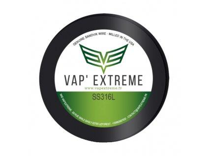 Vap Extreme - SS316L Nerezový odporový drát 9m 26GA 0,4mm