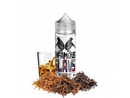 Příchuť Infamous Slavs Bourbon Tobacco SaV 20ml