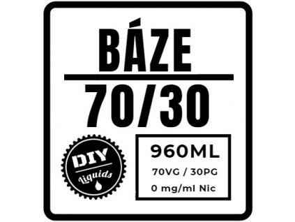Beznikotinová Báze 70/30 960ML