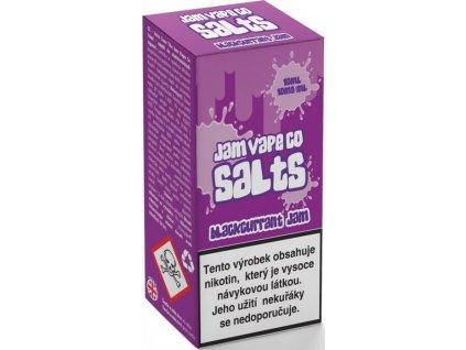 Juice Sauz e-liquid Jam Vape Co Blackcurrant Jam 10ml - 10mg nikotinu/ml